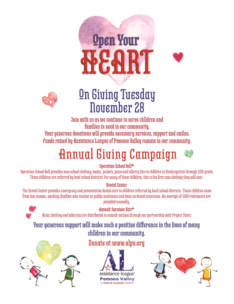 Open Your Heart Donation